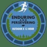 Outdoor X 12 Hour Endurance Run (OX12) logo on RaceRaves