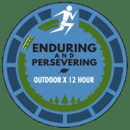 Outdoor X 12 Hour Endurance Run logo on RaceRaves
