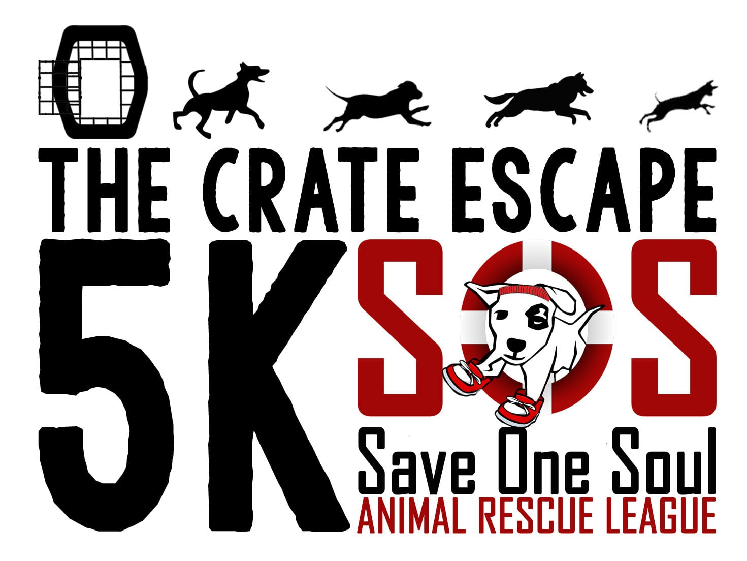 The Crate Escape 5K logo on RaceRaves