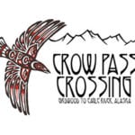 Crow Pass Crossing logo on RaceRaves