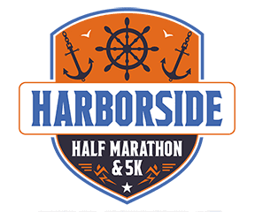 Harborside Half Marathon and 5K logo on RaceRaves
