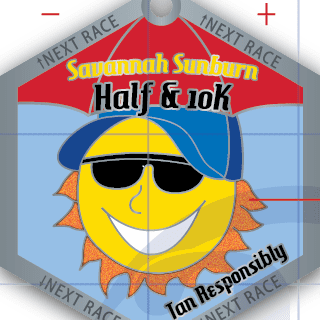 Savannah Sunburn Half & 10K logo on RaceRaves