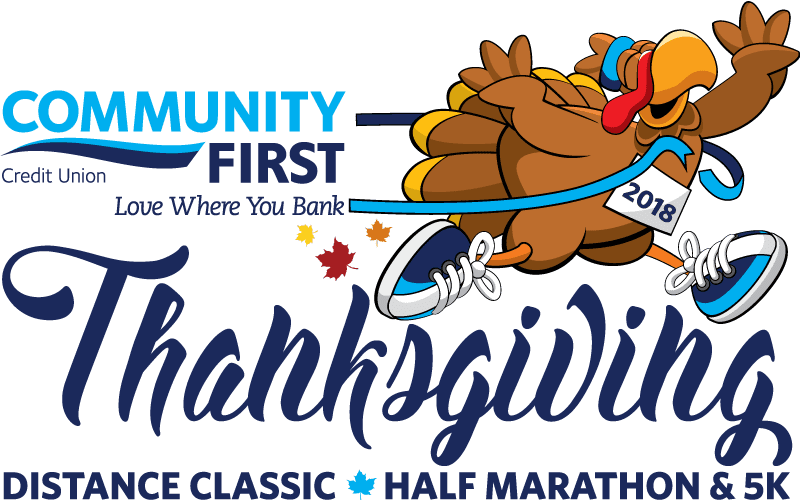 Thanksgiving Distance Classic Half Marathon & 5K logo on RaceRaves