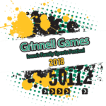 Grinnell Games Half Marathon & 5K logo on RaceRaves