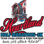Heartland Half Marathon & 5K logo on RaceRaves