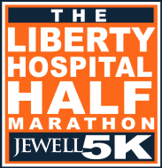 Liberty Hospital Half Marathon logo on RaceRaves