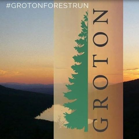 Groton Forest Trail Run logo on RaceRaves