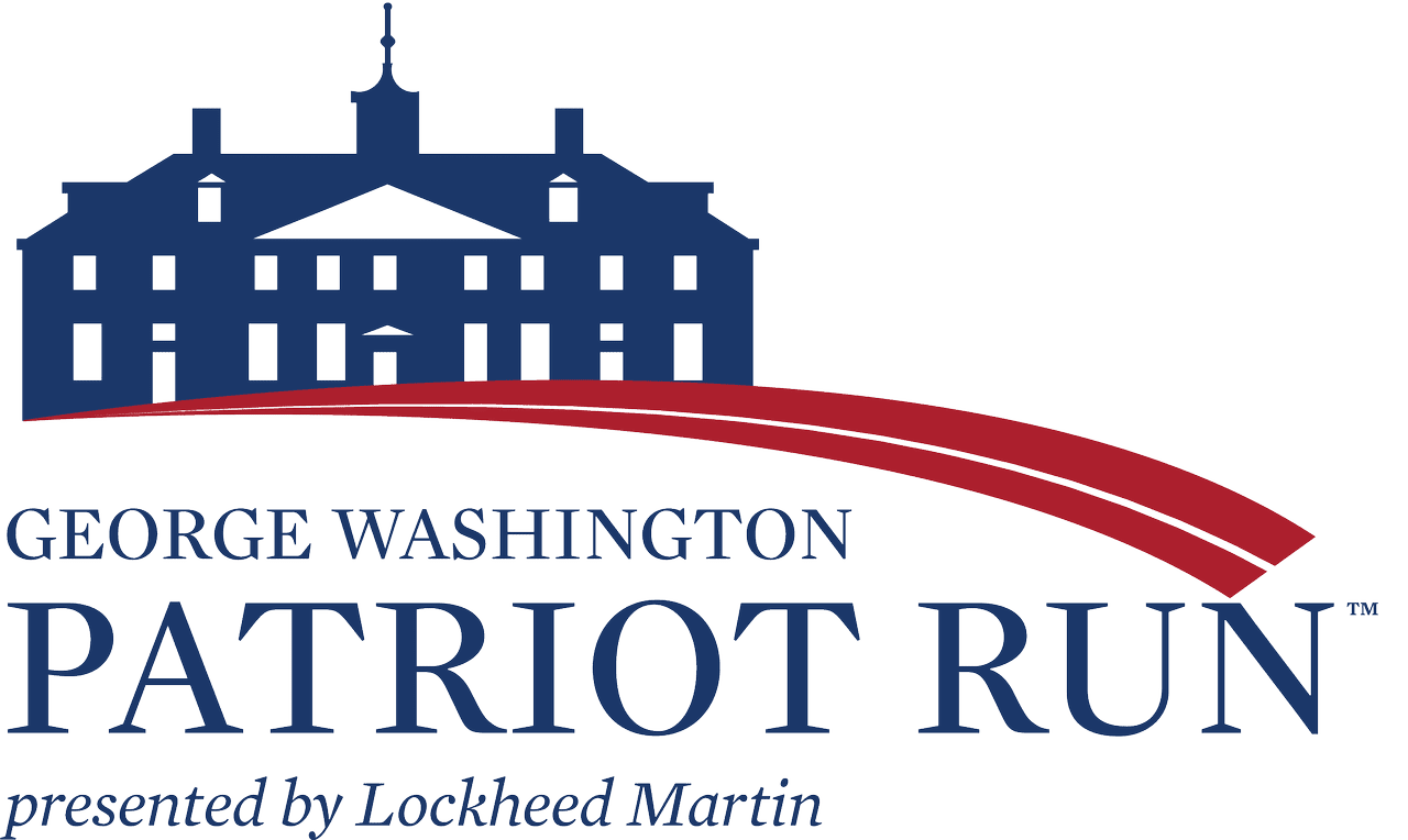 George Washington Patriot Run 5K & 10K logo on RaceRaves
