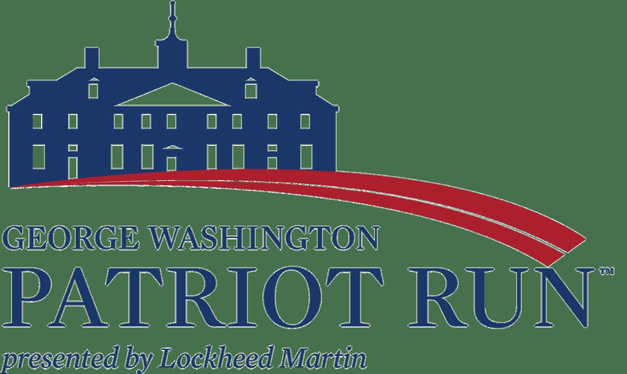George Washington Patriot Run logo on RaceRaves