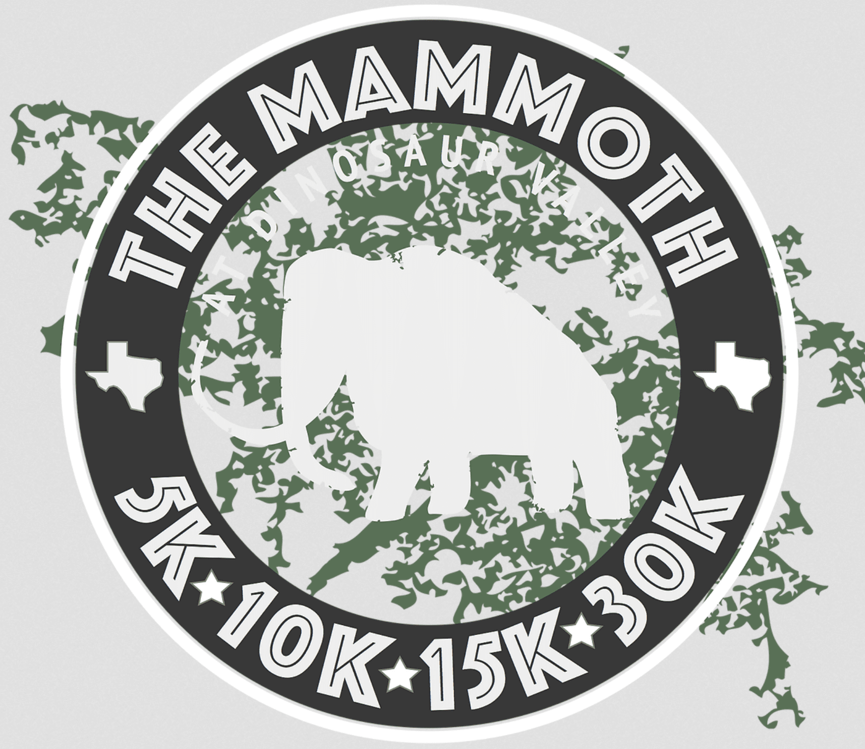The Mammoth at Dinosaur Valley logo on RaceRaves