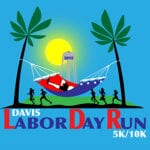 Davis Labor Day Run logo on RaceRaves