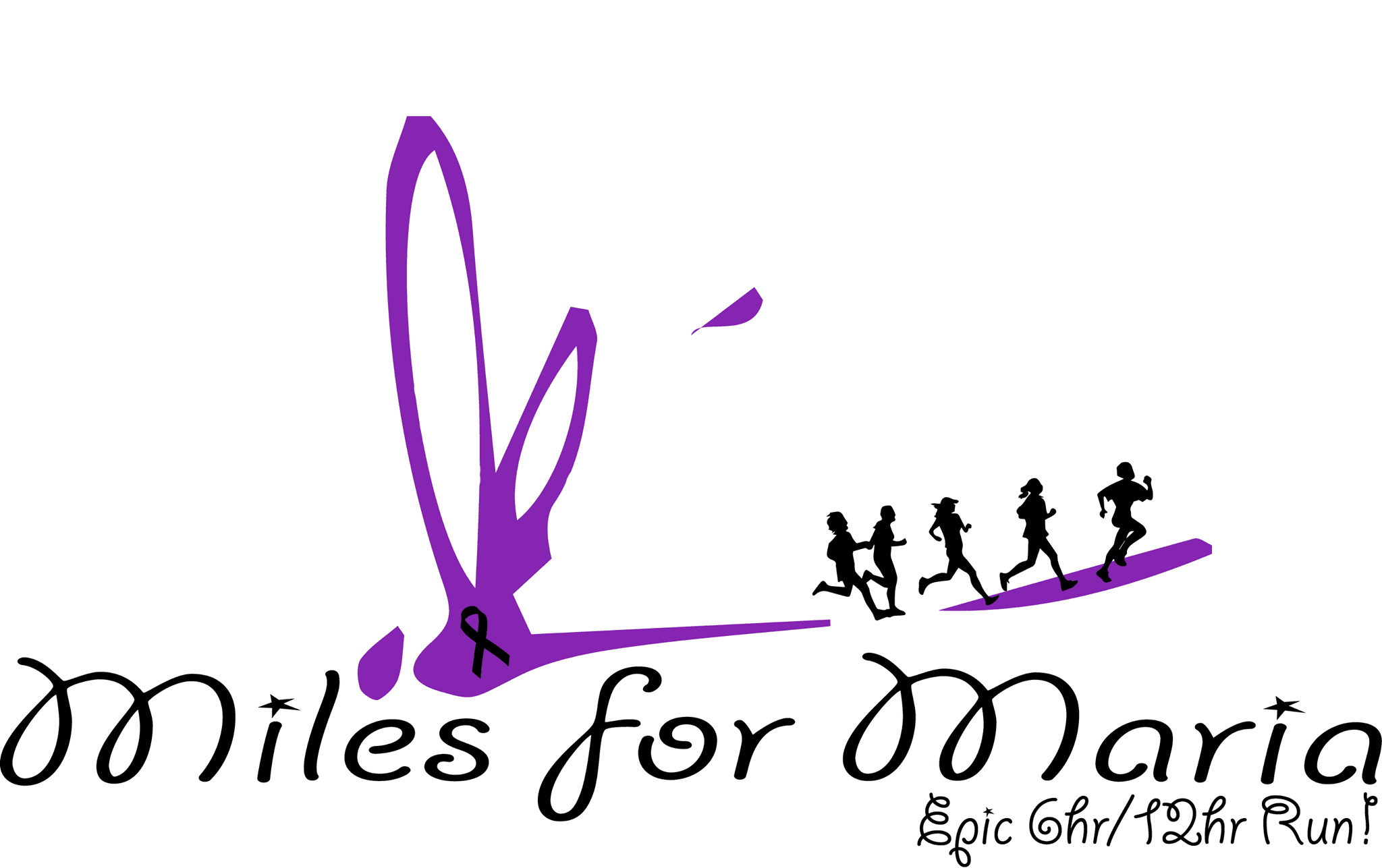Miles for Maria logo on RaceRaves