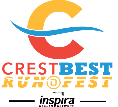 Crest Best Run Fest logo on RaceRaves