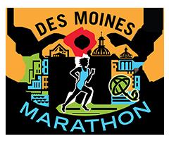 Des Moines Marathon logo on RaceRaves