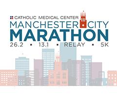 Manchester City Marathon, Half Marathon, Relay & 5K logo on RaceRaves