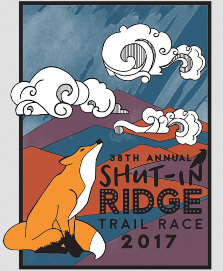 Shut-in Ridge Trail Race logo on RaceRaves
