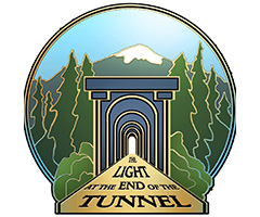 Light at the End of the Tunnel Marathon logo on RaceRaves