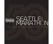Amica Insurance Seattle Marathon logo
