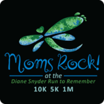 Moms Rock! at the Diane Snyder Run to Remember logo on RaceRaves