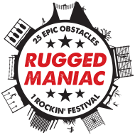 Rugged Maniac Sacramento logo on RaceRaves
