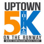 Uptown 5K on the Runway logo on RaceRaves