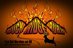 Buck Ridge Burn Half Marathon & 5K logo on RaceRaves