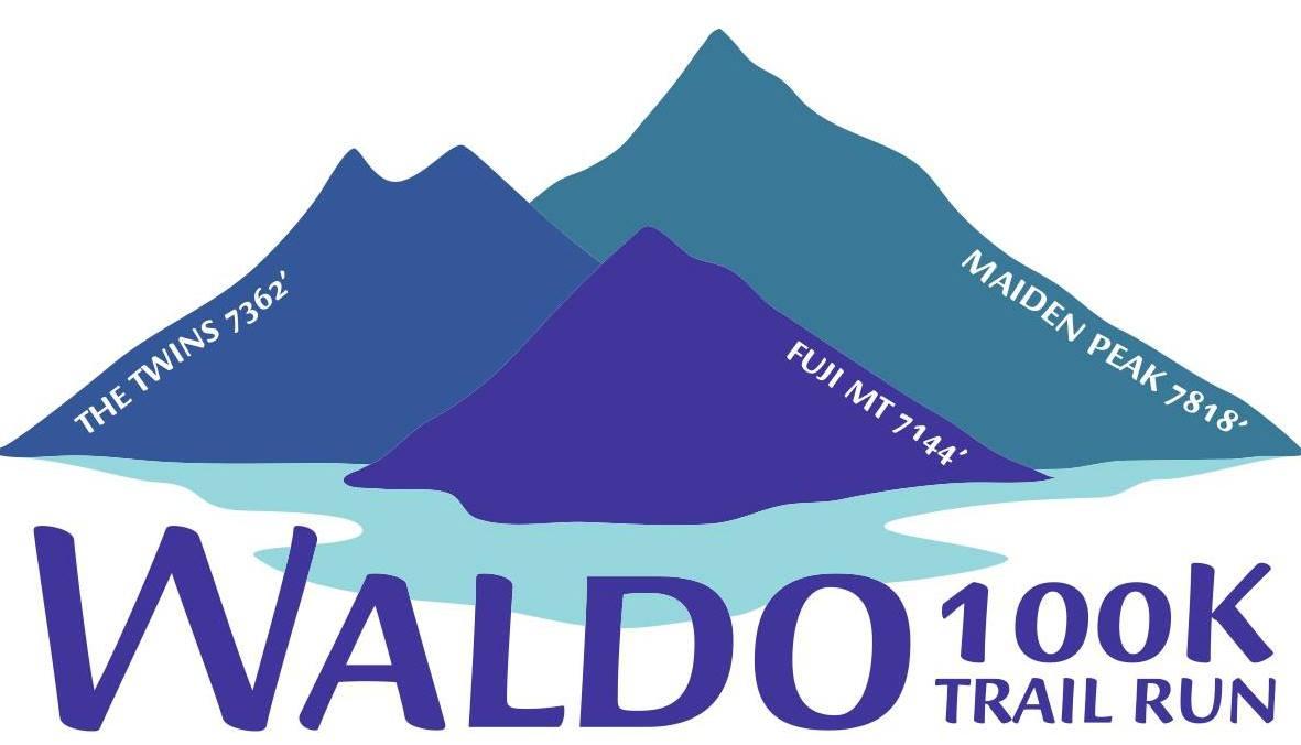 Waldo 100K Trail Run logo on RaceRaves