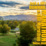 Jack & Jill's Downhill Marathon & Half – Idaho logo on RaceRaves