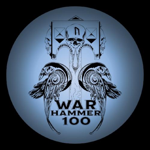 War Hammer 100 Miler logo on RaceRaves