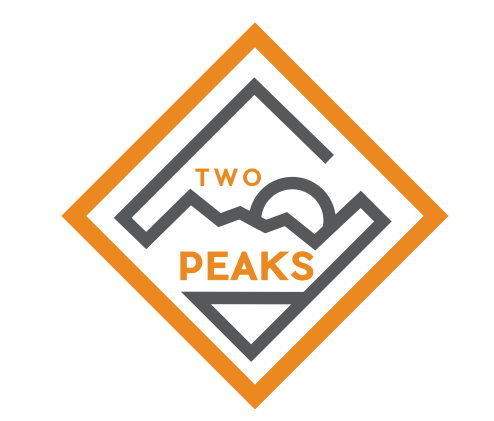 Two Peaks logo on RaceRaves