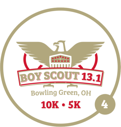 Boy Scout Half Marathon & Tenderfoot 10K & 5K logo on RaceRaves