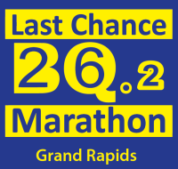 Last Chance BQ.2 Marathon Grand Rapids logo on RaceRaves