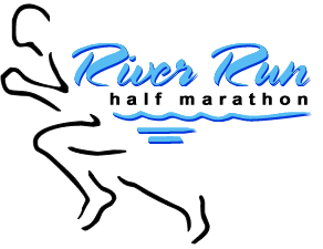 River Run Half Marathon logo on RaceRaves