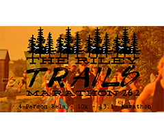 Riley Trails Marathon & Relay logo on RaceRaves