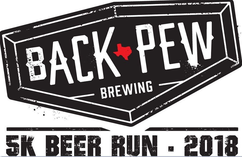 Back Pew Brewing Co 5K Beer Run logo on RaceRaves