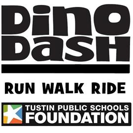 Dino Dash logo on RaceRaves