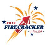 Firecracker 4 Miler (NC) logo on RaceRaves