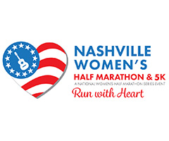 Nashville Women's Half Marathon & 5K logo on RaceRaves