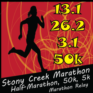 Stony Creek Marathon logo on RaceRaves