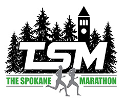 Spokane Marathon logo on RaceRaves