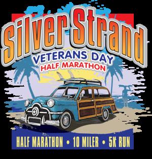 Silver Strand Half Marathon logo on RaceRaves