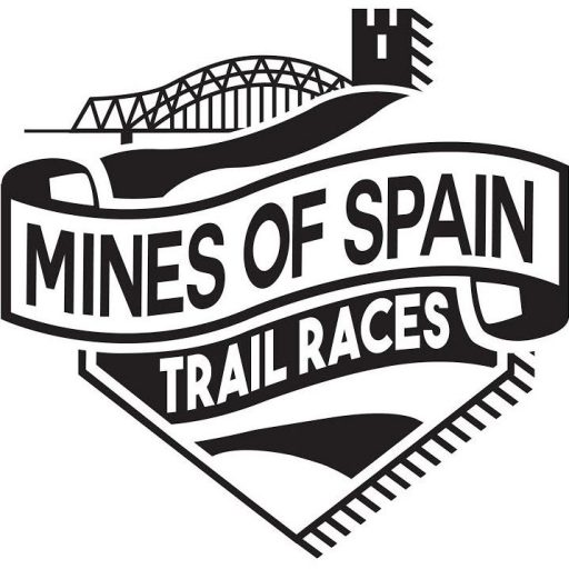 Mines of Spain Trail Races logo on RaceRaves