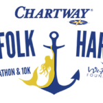 Norfolk Harbor Half Marathon logo on RaceRaves