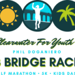 Phil Doganiero 3 Bridge Race logo on RaceRaves