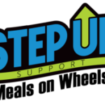 Step Up! Support Meals on Wheels logo on RaceRaves