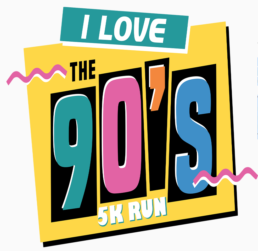 I Love the 90s 5K Nashville logo on RaceRaves
