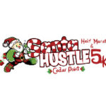 Santa Hustle Cedar Point logo on RaceRaves