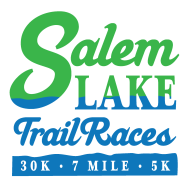 Salem Lake 30K and 7 Mile Trail Runs logo on RaceRaves