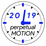 Perpetual Motion logo on RaceRaves