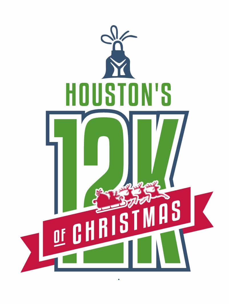 Houston's 12Ks of Christmas logo on RaceRaves